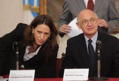 La kirchnerista Cecilia Nah�n deja la embajada en Estados Unidos