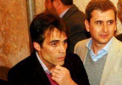 Primer encuentro entre L�pez y Aued despu�s de las elecciones