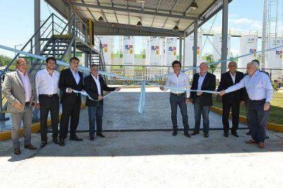 Cariglino inauguró una planta de reciclado en Malvinas Argentinas