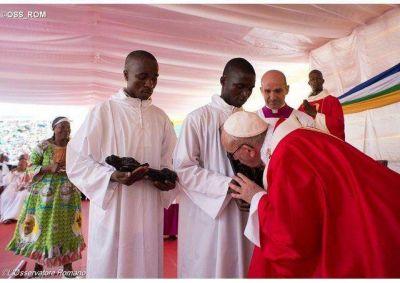 África vive la esperanza de la paz