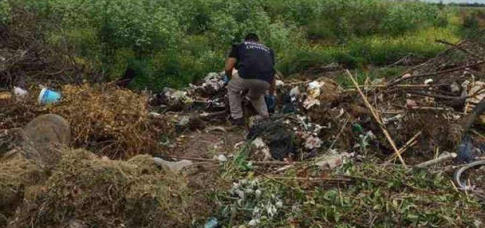 Documentación quemada: Inza dice que lo encontrado es del HCD y desde el Concejo lo niegan