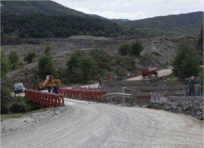 Se realizará montaje de nuevo puente sobre el Río Pipo