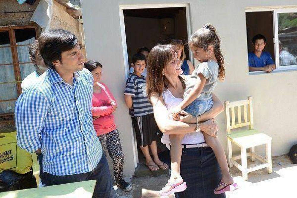 Nuevas viviendas y mejoras habitacionales en La Esperanza