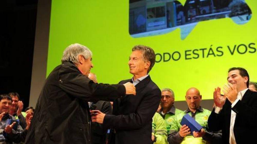 Expectativa por la reunión de Macri con Moyano