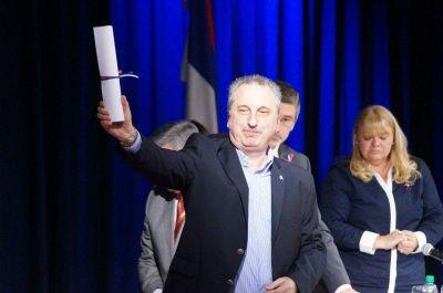 El Gobernador y los diputados electos recibieron sus diplomas