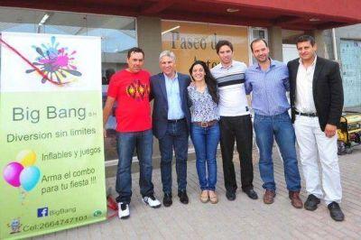 Diez j�venes empresas abrieron en la ciudad de San Luis, La Punta y Juana Koslay