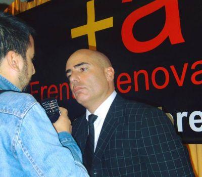 Gustavo Spalletti es el presidente del bloque del Frente Renovador