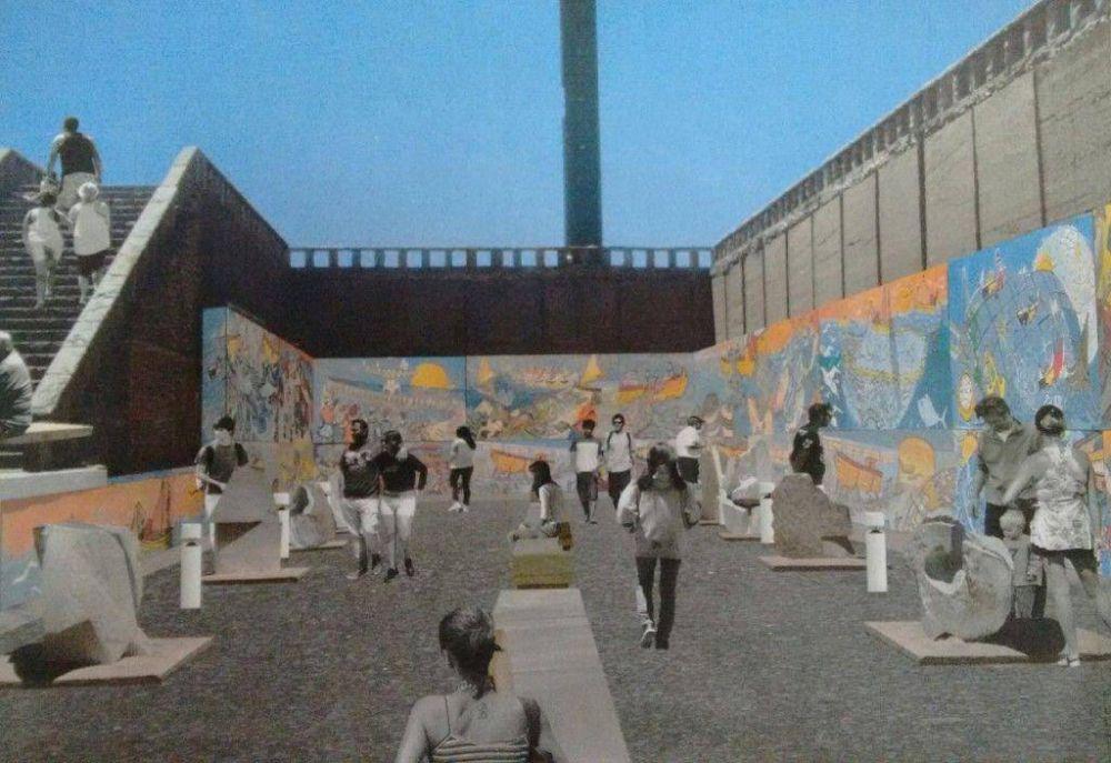 Habrá concurso de murales y grafittis para el paseo Escollera Sur