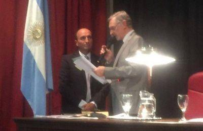 Eduardo Rodr�guez fue reelecto presidente del Concejo Deliberante