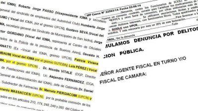 IOMA: los negociados con la industria farmac�utica que salpican a Quintana y Baradel