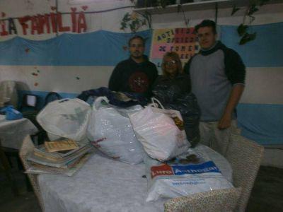 La Juventud Radical de Mar del Plata realizó campaña de donaciones