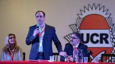 El presidente de la UCR le pidió a Macri