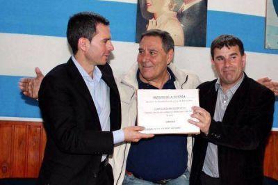 Jose González Hueso trabajará en la Intendencia de Azul
