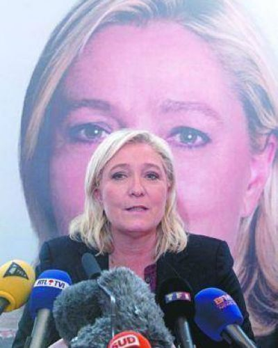 Alarma en Europa por Le Pen