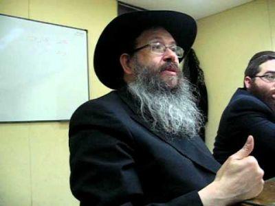 El rabino Grunblatt: