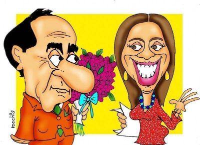 Sale Scioli, entra Vidal: ultiman detalles para un traspaso modesto en Casa de Gobierno