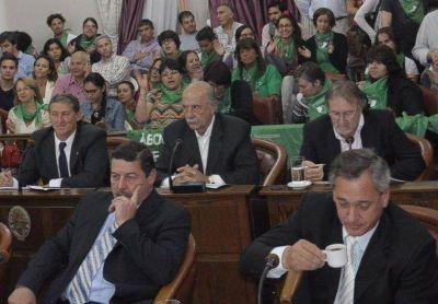 El Senado entrerriano archivó el proyecto sobre aborto
