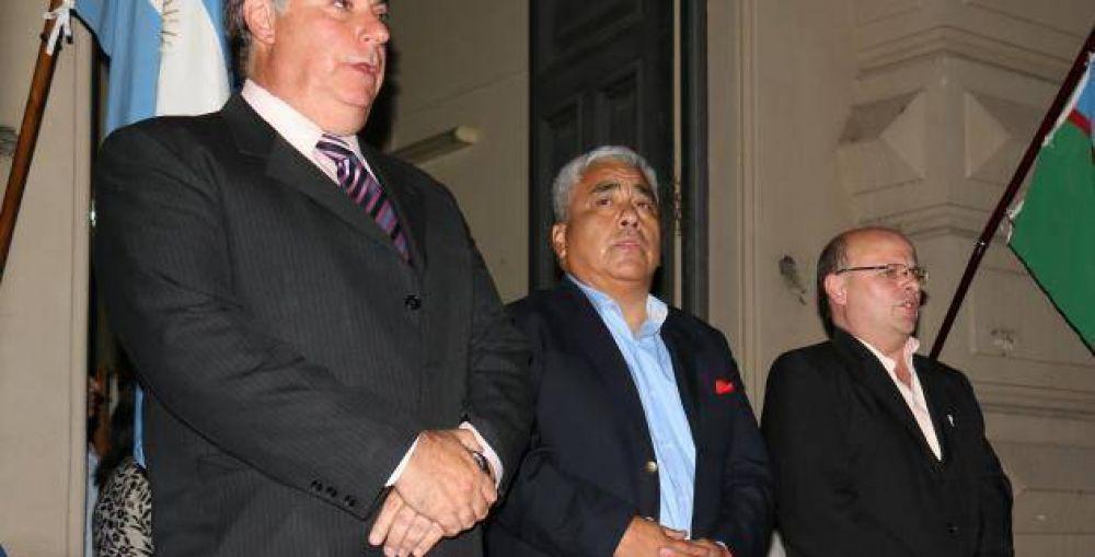 Con la presencia de Venegas, Cecilio Salazar juró como Intendente