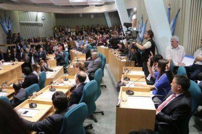 Juraron los legisladores electos y designaron autoridades