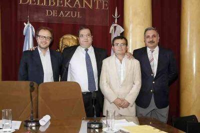 Juraron los concejales y Pedro Sottile es el nuevo presidente