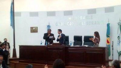 Leonardo Nardini asumió como intendente y presentó a su Gabinete