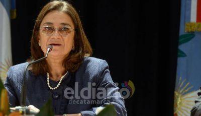 Lucía Corpacci participó de la asunción como presidente de Mauricio Macri