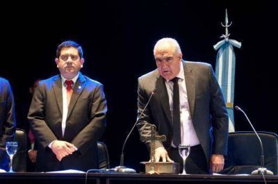 Octavio Gutiérrez prestó juramento y asumió como vicegobernador de la provincia