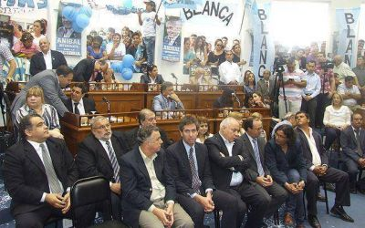 Regueiro juró por un nuevo mandato como intendente