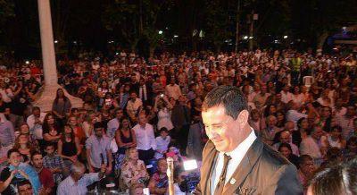 Gómez asumió como intendente de San Vicente