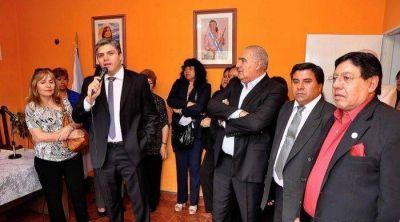 El Vicegobernador presente en la asunci�n del intendente Cristi�n Guti�rrez