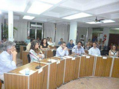 Siete ediles se despidieron del Concejo Deliberante