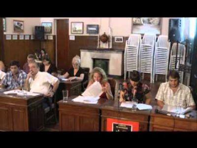 Sesión preparatoria y elección de autoridades en el Honorable Concejo Deliberante