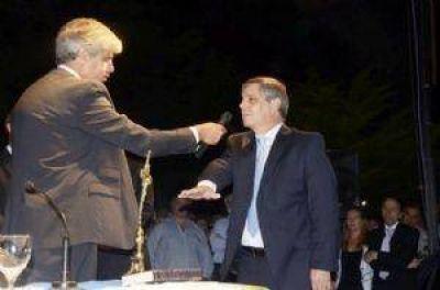Guillermo Britos jur� como nuevo intendente municipal de Chivilcoy