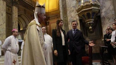 Macri asistirá a una invocación religiosa en la catedral de Buenos Aires