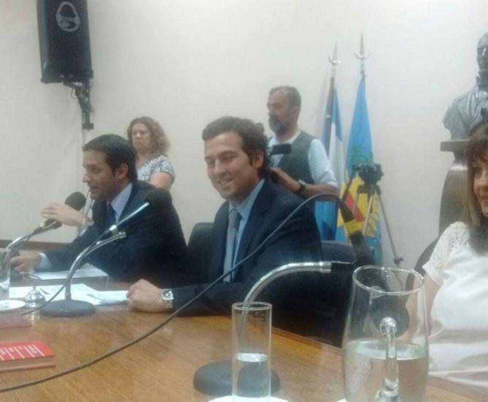 Por unanimidad, Vitalini fue elegido presidente del HCD