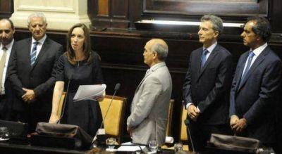A partir de las 13, Vidal tomar� juramento a los nuevos ministros bonaerenses