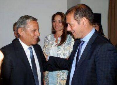 El Gobernador asistió a la asunción de Quiroga