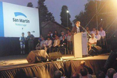 Katopodis asumi� su segundo mandato en General San Mart�n
