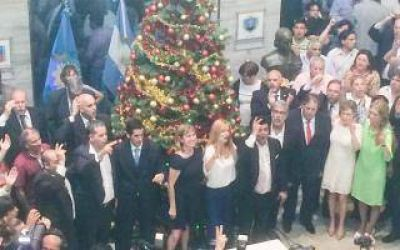 La Matanza: Intendenta Magario asumió con exfuncionarios de Scioli y Cristina como parte del gabinete