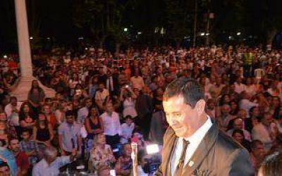 Mauricio Gómez juró como Intendente de San Vicente