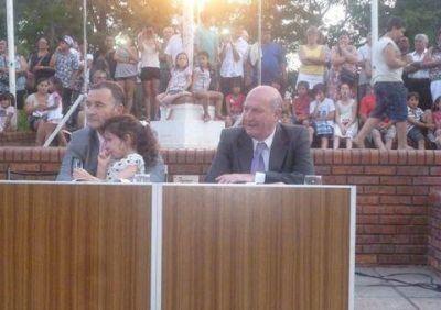 Asumió Mauro Poletti, su Gabinete y los concejales