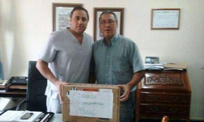 Lenzi entregó cardiodesfibrilador al hospital de Saladillo