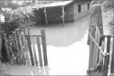 El temporal afectó a varias localidades de la provincia