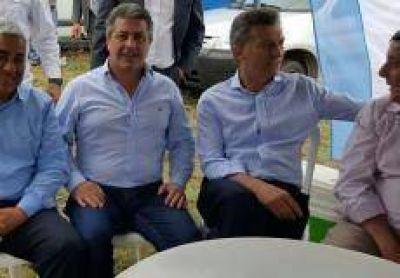 Salazar acompañó a Macri en Pergamino