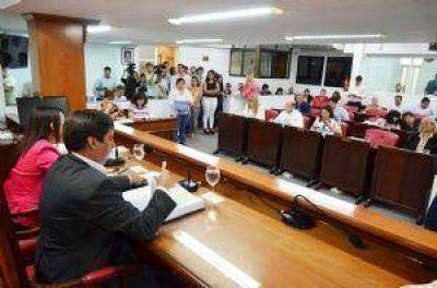 Pasó a comisiones del Concejo el paquete de proyectos enviados por Capitanich