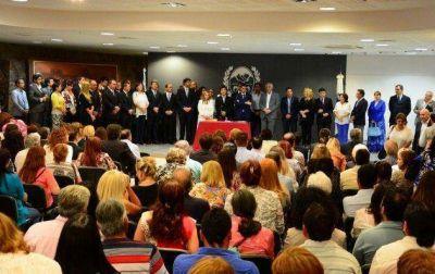 El gobernador Rodríguez Saá tomó juramento a 39 funcionarios