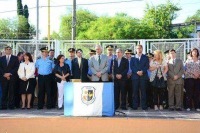 El gobernador Rodríguez Saá puso en funciones a la plana mayor de la Policía provincial
