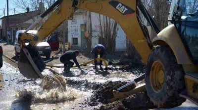 Habrá baja presión de agua en siete barrios del oeste