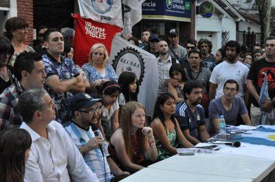 Autoridades locales y nacionales repudiaron el desalojo del espacio Batalla Cultural