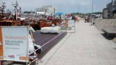 Mejoras en la Banquina de Pescadores y el Paseo Comercial del puerto